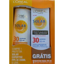 Protetor Solar Expertise Fps30 com Protetor Facial